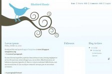 Bluebird Basic template