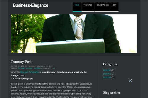 It's Business Elegance template
