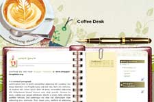Coffee Desk template