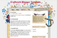 Craftwork template