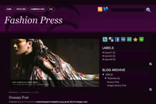 FashionPress template