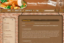 Seeking Restaurants template