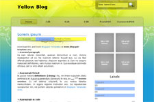 YellowBlog template